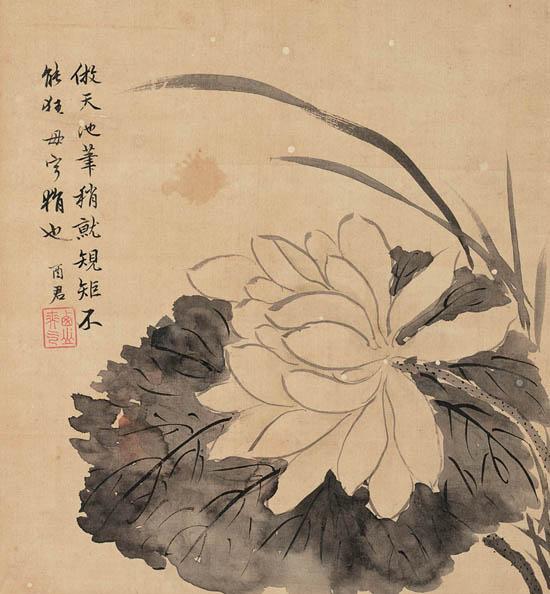 jiang-tingxi-1669-1732-lotus
