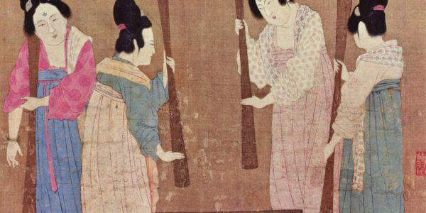peinture chinoise Dynastie Tang Zhang Xuan
